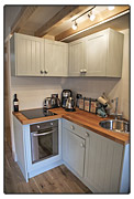 Fisherman's Cottage self-catering kitchen